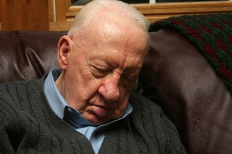 Why do old people sleep so much