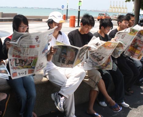 Why do people read newspapers