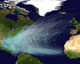 Why Do Hurricanes Spin in the Northern Hemisphere